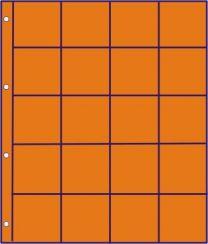 Hartberger GMO 20 R oranje bladen 10x