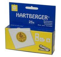 Hartberger Munthouders om te nieten 20   25x 8330020