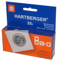 Hartberger Munthouders zelfklevend 25   25x 8320025